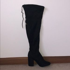 Steve Madden over the knee boots (NEVER WORN!!)